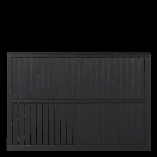 Zwart Houten Tuinscherm Atrium 180 x 122,5 CM 15403-15 Minimale afname 5 schermen in de mix