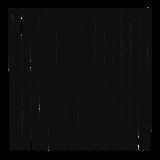 Zwart Houten Tuinscherm Nagano 180 x 180 CM