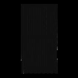 Zwart Houten Tuinscherm Nagano 90 x 180 CM