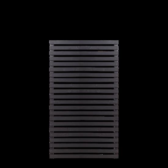 Zwart Houten Tuinscherm Tokyo 83 x 140 CM 17411-15 Minimale afname 5 schermen in de mix
