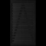 Zwart Houten Tuindeur Osaka 100 x 180 CM