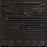 Zwart Houten Tuinscherm Kyoto 160 x 160 CM