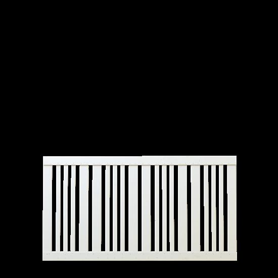 Wit Houten Tuinhek Classic 150 x 80 CM 17645-13