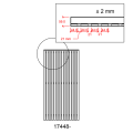 Zwart Houten Tuinscherm Sendai 90 x 180 CM 17448-15