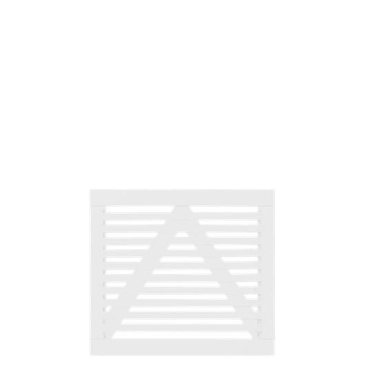 Witte Houten Tuinpoort Tokyo 100 x 90 CM 17420-13