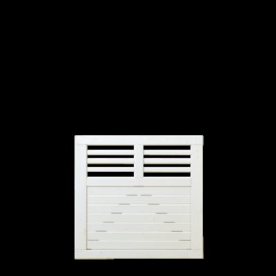 Wit Houten Tuinpoort Decora 100 x 95 CM