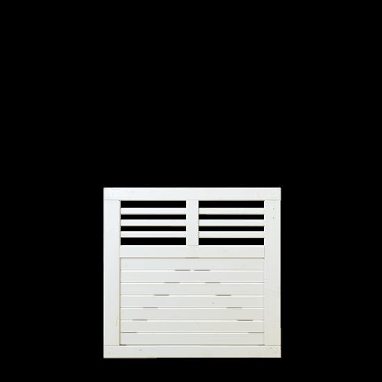 Wit Houten Tuinpoort Decora 100 x 95 CM 17630-13 Minimale afname 5 schermen in de mix