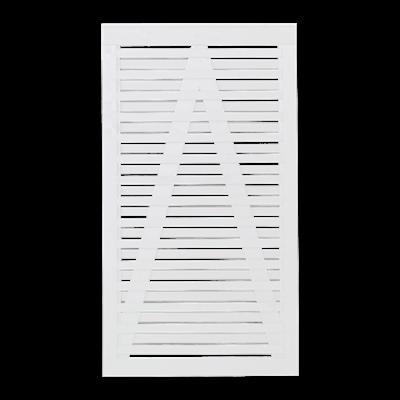 Witte Houten Tuindeur Osaka 100 x 180 CM