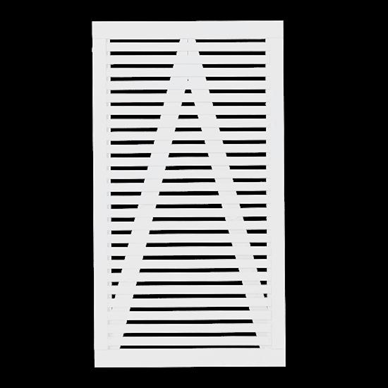 Witte Houten Tuindeur Tokyo 100 x 180 CM 17422-13