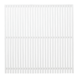 Wit Houten Tuinscherm Sendai 180 x 180 CM