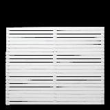 Witte Houten Tuinscherm Tokyo 180 x 140 CM