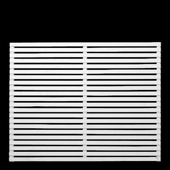 Witte Houten Tuinscherm Tokyo 180 x 140 CM 17313-13