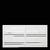Witte Houten Tuinscherm Tokyo 180 x 90 CM