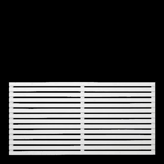 Witte Houten Tuinscherm Tokyo 180 x 90 CM 17315-13