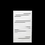 Witte Houten Tuinscherm Tokyo 83 x 140 CM