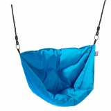 "Hangstoel Aqua Blauw ""Moonboat"" Outdoor Stof"