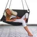 "Hangmatschommel Zwart ""Balance"" Outdoor Stof 496021"