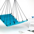 "Hangstoel Aqua Blauw ""Hang M High""  495003"