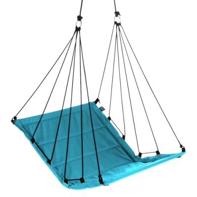 "Hangstoel Aqua Blauw ""Hang M High"""
