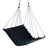 "Hangstoel Zwart ""Hang M High"" Outdoor Stof"