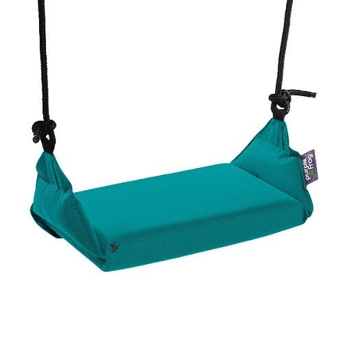 Kinderschommel Aqua Blauw Outdoor Stof 497005