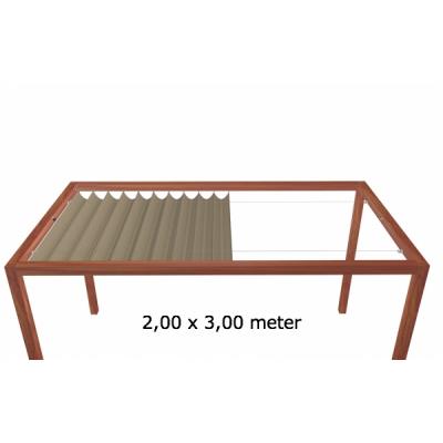 Harmonicadoek 2,00 x 3,00 meter