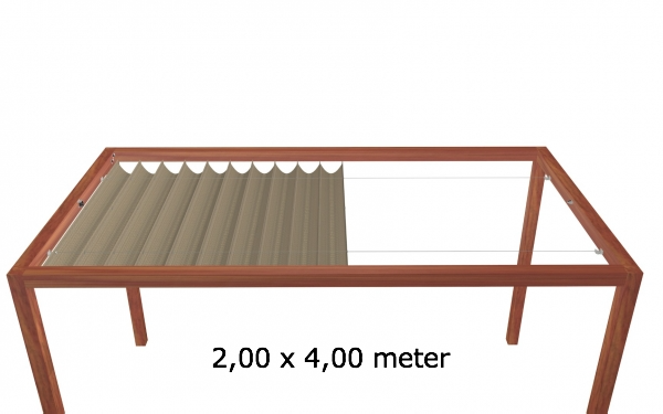Harmonicadoek 2,00 x 4,00 meter Wavesail 2040