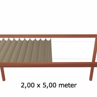 Harmonicadoek 2,00 x 5,00 meter