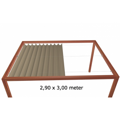 Harmonicadoek 2,90 x 3,00 meter