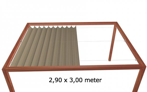 Harmonicadoek 2,90 x 3,00 meter Wavesail 2930