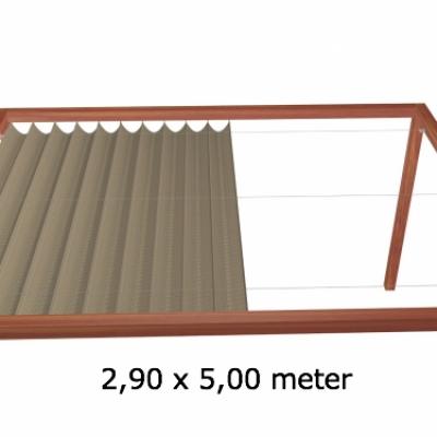Harmonicadoek 2,90 x 5,00 meter