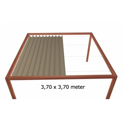 Harmonicadoek 3,70 x 3,70 meter