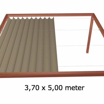 Harmonicadoek 3,70 x 5,00 meter