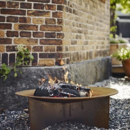 Grote Vuurschaal Flame Firebowl Cortenstaal