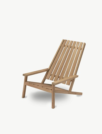 "Skagerak Adirondack Stoel ""Between Lines Deck Chair"" Teak 1550605"