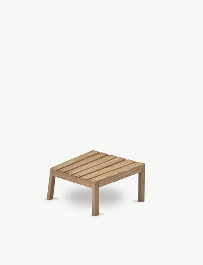 "Adirondack Hocker ""Between Lines Deck Stool"" Teak 1550615"