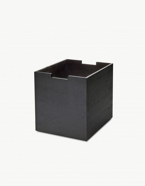 """Skagerak """"Cutter"""" Opbergbox Large Zwart Gebeitst Eiken S1920423"""