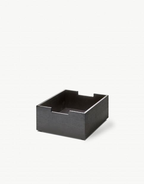 """Skagerak """"Cutter"""" Opbergbox Small Zwart Gebeitst Eiken S1920433"""