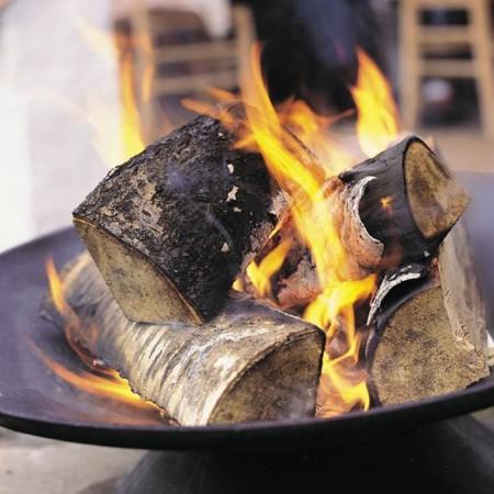 Vuurschaal Helios + BBQ Rooster