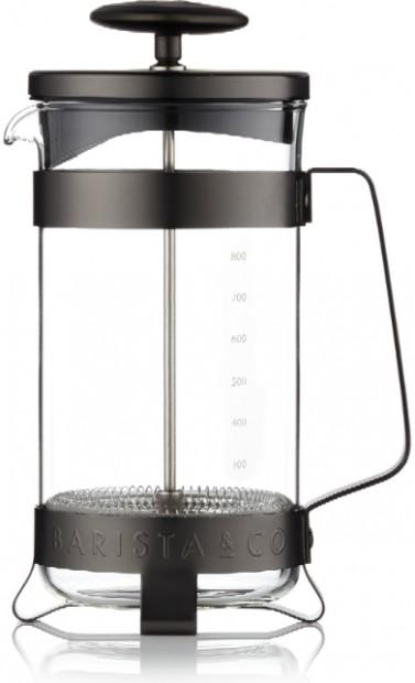 Barista & Co Cafetière Zwart voor 8 koppen Gunmetal