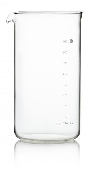 Barista & Co Cafetière maatbeker -  8 koppen Transparant