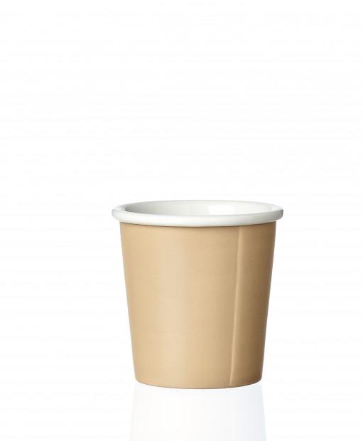 """Viva Scandinavia Papercup Espresso Kopje """"Anna"""" 0,08 L Warm Sand  VS701568"""