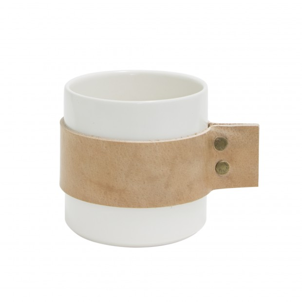 "TAK Design Beker ""Wrap Me Morgan"" Natural Leer TD015986"