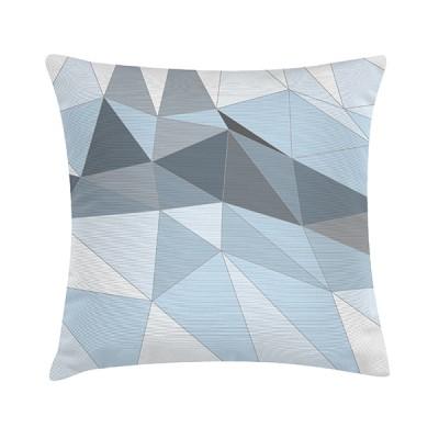 """TAK Design Sierkussen """"Kira"""" 45 x 45 cm - Blauwgrijs"""