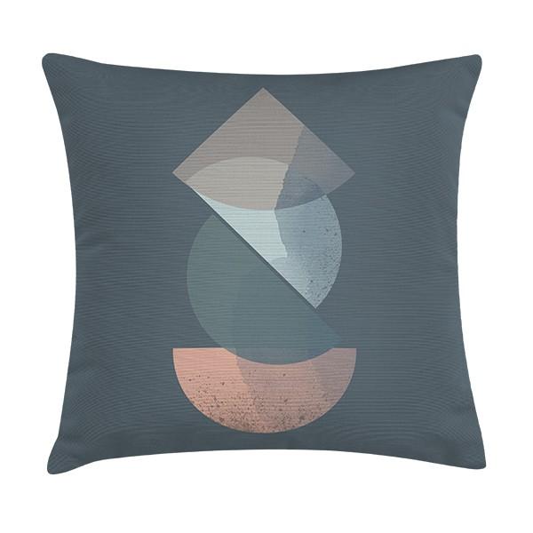 """TAK Design Sierkussen """"Royd River Blue"""" 45 x 45 cm - Blauw TD016143"""