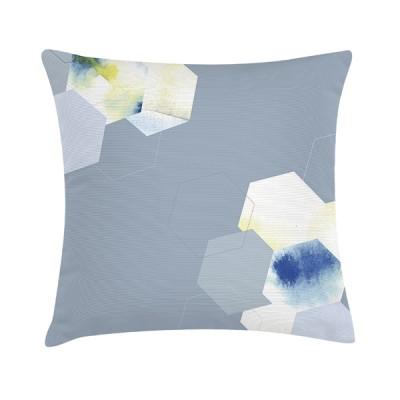"""TAK Design Sierkussen """"Impale Dove Blue"""" 45 x 45 cm - Blauw"""