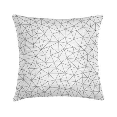 """TAK Design Sierkussen """"Mew Geomatric 1"""" 45 x 45 cm - Wit"""