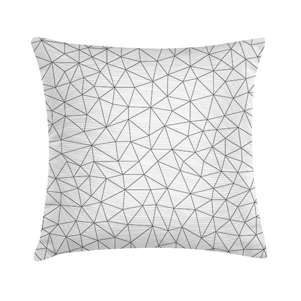 """TAK Design Sierkussen """"Mew Geomatric 1"""" 45 x 45 cm - Wit TD016259"""