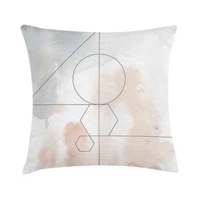 """TAK Design Sierkussen """"Brook"""" 45 x 45 cm Grafisch Patroon"""