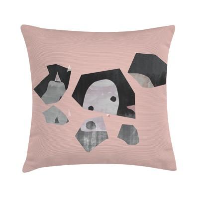 """Sierkussen """"Polyantha Pink"""" 45 x 45 cm - Roze"""